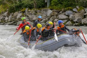 Rafting 4 level in Oetztaler Ache with guide Sergey