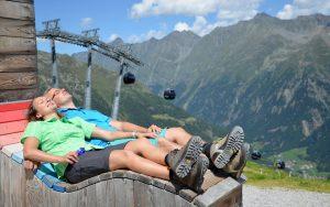 Hiking in Soelden © ALPLUX foto