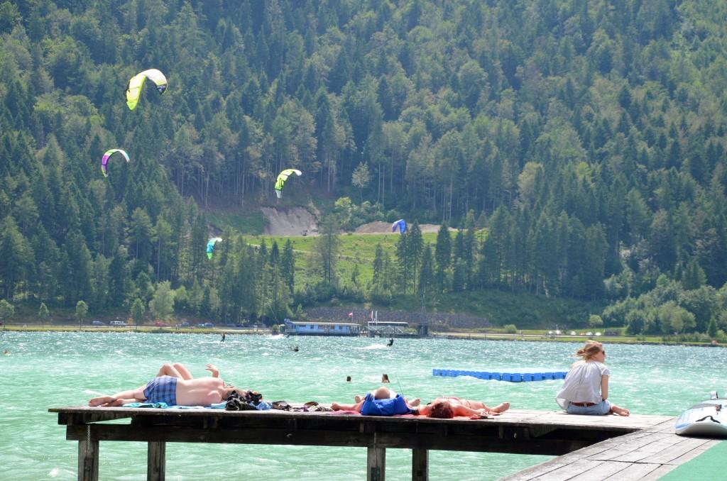 Achensee kitesurfing
