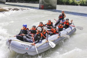 Rafting 2 level with kids