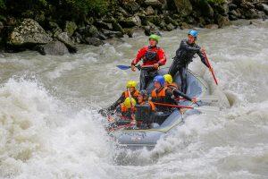 Rafting 4 level Oetztal