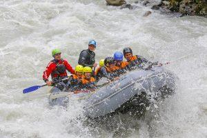 Rafting 4 level Oetztaler Ache