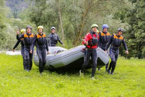 Rafting Oetztaler Ache with russian guide Sergey