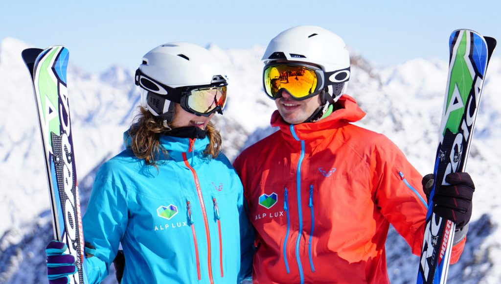 Ski Instructors in Soelden © ALPLUX foto